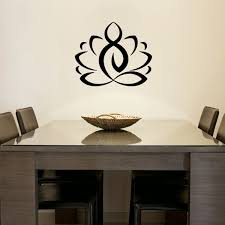 Wall Decal ZEN Lotus Cheap Stickers Nature Discount Wall