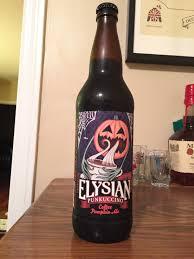Elysian Pumpkin Ale Alcohol Content by October 11 U2013 Elysian Brewing Co Punkuccino U2013 Pumpkin Daze A
