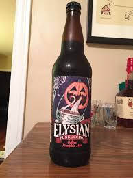 Elysian Pumpkin Ale by October 11 U2013 Elysian Brewing Co Punkuccino U2013 Pumpkin Daze A