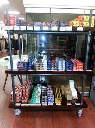 This Rolling Shelf Is Used To Display Stackable Merchandise Casters On The Bottom Of Frame Slide Into Exposed End Pipe And Provide For Easy