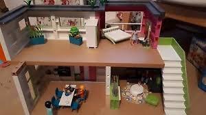 playmobil luxusvilla mit schlafzimmer wohnzimmer viel