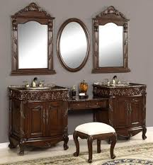 Bath Vanities With Dressing Table by Inspiration 40 Custom Bathroom Vanities With Makeup Area Design