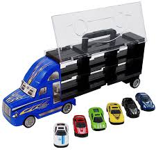 Cheap Toy Truck Car Carrier, Find Toy Truck Car Carrier Deals On ... Prtex 60cm Detachable Carrier Truck Toy Car Transporter With Product Nr15213 143 Kenworth W900 Double Auto 79 Other Toys Melissa Doug Mickey Mouse Clubhouse Mega Racecar Aaa What Shop Costway Portable Container 8 Pcs Alloy Hot Mini Rc Race 124 Remote Control Semi Set Wooden Helicopters And Megatoybrand Dinosaurs Transport With Dinosaur Amazing Figt Kids 6 Cars Wvol For Boys Includes Cars Ar Transporters Toys Green Gtccrb1237