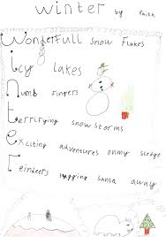 Halloween Acrostic Poem Ideas by Merry Christmas Acrostic Decorating Ideas
