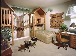Kids Bedroom Ideas Themed Bedrooms Jungle For Boys Only Room Theme