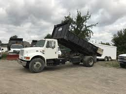 100 Dump Trucks For Sale In Michigan 1996 INTERNATIONAL 4700 Flat Bed Truck For In