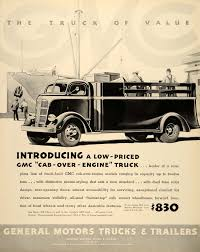 1937 Ad General Motors Trucks Trailers GMC Engine Coach - ORIGINAL ...