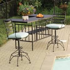Meadowcraft Patio Furniture Glides by Best 25 Iron Patio Furniture Ideas On Pinterest Painting Patio