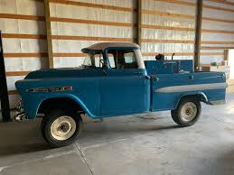 100 Apache Truck For Sale 1959 Chevy Fleetside With Miller Welder Owned