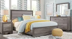 marlow gray 5 pc queen panel bedroom queen bedroom sets colors
