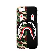 bape shark iPhone x case iPhone 8 8 plus iPhone 7 7 plus case