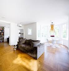 sanierung gründerzeit villa wohnzimmer modern