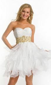 white short formal dresses dress fa