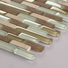 Accent Tiles For Kitchen Backsplash Mosaic Bathroom Accent Tiles Shower Brown And White Glass Subway Tile Backsplash