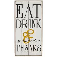 Hobby Lobby Wall Decor by Eat Drink U0026 Give Thanks Wood Wall Decor Hobby Lobby 1123017