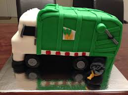 100 Rubbish Truck Garbage Truck Cakes