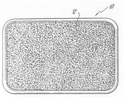 European Bath Mat Without Suction Cups by Patent Us20090241978 Exfoliating Shower Mat Google Patents