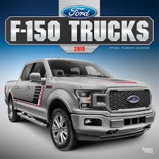 100 Ford Trucks 9781975402174 F150 2019 Wall Calendar Browntrout