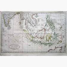 East Indies From The Best Authorities C1802 Maps KittyPrint 1800s India