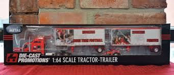 100 Diecast Promotions Trucks Nebraska More Than Football 164 Scale Die Cast Tractor Trailer