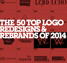 50 Top Re Brands & Logo Redesigns of 2014
