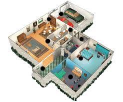 plan de maison 2 chambres plan de maison 3d avec 2 chambres et garage plans maisons