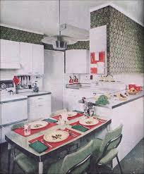 1955 Modern Green Kitchen By American Vintage Home Via Room Design