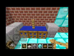 Minecraft Kitchen Ideas Pe by Minecraft Pe How To Build A Kitchen Tutorial Youtube