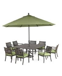 Macys Outdoor Dining Sets by Madison Outdoor Aluminum 8 Pc Dining Set 64