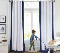 Colour Bordered Blackout Curtain | Pottery Barn Kids Decorating Curtains Light Blocking And Pottery Barn Blackout Pottery Barn Blackout Curtains Kids Adealinfo Pillowfort Rug For Bedroom Childrens Colour Bordered Curtain Kids Decor Pb With Regard Drapery Panels Decor Drapes Block Out These Are Perfect Adding A Pop Interesting Interior Pb Williamssonoma Striped Edge Linen Drape Copycatchic