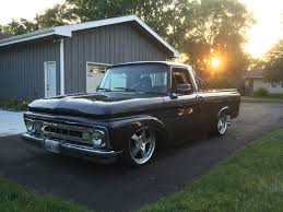 100 Ford Unibody Truck For Sale 1961 F100turbo DIESEL Independent Frontrear