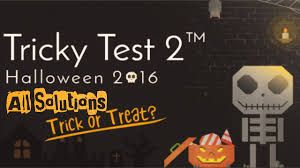 Halloween Brain Teasers by Tricky Test 2 Halloween 2016 Level 1 100 All Solutions Youtube