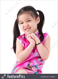 picture of little in cheongsam