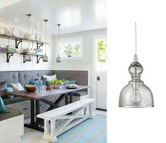 get the look kitchen nook lighting style home