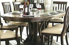 Oval Dining Table For 8 Room Sets With Leaf