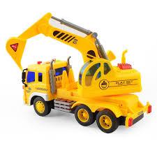 Kids Toy 1/16 Large Construction Truck Excavator Digger Demolition ...