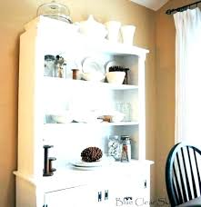 Hutch For Dining Room Unfinished Corner Cabinet Small Blue And White
