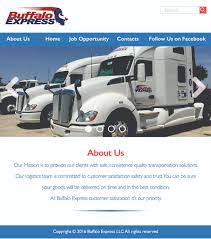 Serious, Professional, Trucking Company Web Design For Buffalo ... Bulk Transportation Food Grade Tank Wash Transporters Food Stellar Express Trucking Companies In Kentucky Indiana Local Transportation Company Triple D Inc Chicago Il Motland Express Home Summit Logistics The Strongest Link Your Supply Chain Balkan Truck Youtube Flatbed Driving Job Gypsum Cargo Servicescargo Trucking Freight Broker Service Delaware And Livestock Inc Silver Arrow Express Logistics Company Near Rockford River Valley Schofield Wi