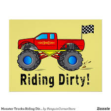 Monster Trucks:Riding Dirty! Poster | Irony & Humor | Pinterest ...