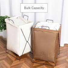 details zu wäschekorb groß organizer kinder rahmen leinen badezimmer aufbewahrung