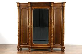 SOLD - Italian 1900 Antique Walnut Triple Armoire, Wardrobe Or ... Antique French Louis Xv Style Walnut Triple Armoire Bedroom Nice Details About Triple Armoire 1910 Wardrobe Wardrobes With Mirror Imposing Black Rustic Wardrobe Blackcrowus Sold Beveled Doors Chantilly White The Cotswolds Edinburgh Natural Solid Oak Large Fniture Land Antique French Triple Armoire Wardrobe Linen Cupboard1100 My Devon Painted Pine Cupboard Ebay Drawer Amazing Drawers Tilson