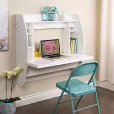 Cymax Desk With Hutch by White Floating Computer Desk With Storage Wehw 0200 1