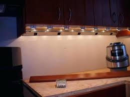 installing hardwired cabinet led lighting tag install
