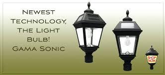 l post garden lights solar light bulb l post lanterns home