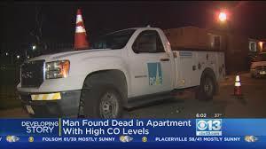 100 Man Found Dead In Truck Sacramento Apartment With High Carbon Monoxide