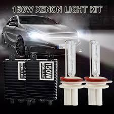 taitian 2pcs bulb h1 hid 150w xenon kit 12v 6000k 4300k canbus h7