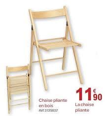 carrefour chaise pliante carrefour promotion chaise pliante en bois produit maison