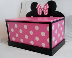 Making A Large Toy Box by Minnie Mouse Toy Box Party Pinterest Minnie Mouse Toys Toy