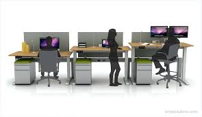 Kangaroo Standing Desk Uk by Height Adjustable Workstations For Computers Electric Height