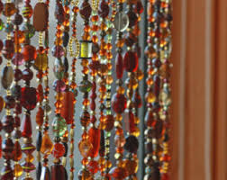 Glass Bead Curtains For Doorways by Beaded Curtain Etsy